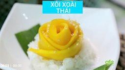 Cách đơn giản làm món xôi xoài Thái Lan chuẩn vị cho ngày cuối tuần mát lành