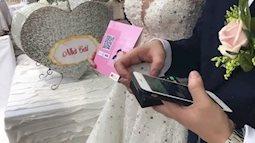 Đám cưới thời công nghệ, quẹt thẻ thay phong bì?