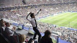Tổng thống Pháp sung sướng vỡ òa khi đội nhà vô địch