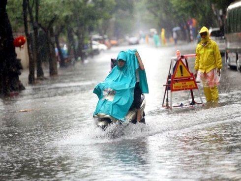 Thời tiết 16/7: Áp thấp nhiệt đới di chuyển vào Thanh Hóa, Bắc Trung Bộ mưa lớn