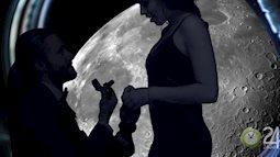 Cầu hôn bạn gái trên mặt trăng với giá 3000 tỷ đồng