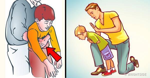 Hướng dẫn chi tiết cách chữa nghẹn, sặc cho bé tại nhà