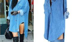 Đầm suông Jean, lựa chọn tối ưu của các phái đẹp