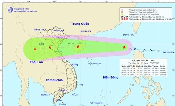 Tin nóng: Biển Đông đón cơn bão thứ 3