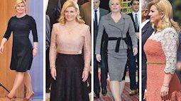 Gu ăn mặc tinh tế của tổng thống Croatia