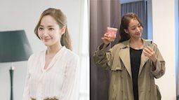 Học 'thư ký Kim' Park Min Young cách để mái phồng giúp giấu nhẹm khuyết điểm trán cao, rộng