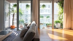 Thử sáng tạo với căn hộ ngập tràn nắng, tiết kiệm diện tích như này xem