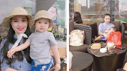 Hậu trường không ngờ của những bức ảnh long lanh để sống ảo của cặp đôi mẹ con