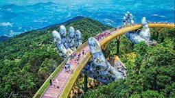 Cầu Vàng Đà Nẵng nổi tiếng khắp thế giới, có ai đã check in chưa?