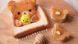 Bữa sáng siêu cute của mẹ bỉm sưa dành riêng cho con, nhìn thấy bé nào mà chê