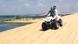 Du lịch Bình Thuận- Trải nghiệm phi xe tốc độ trên đồi cát