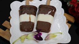 Tự làm kem chuối cacao cực đơn giản lại ngọt mát vô cùng