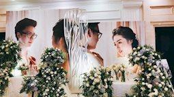 Đám cưới  của á hậu Tú Anh- hé lộ về váy và áo dài cưới quá lung linh xuất sắc