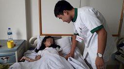 Bé gái 9 tuổi bị sỏi to 1 cm trong niệu quản