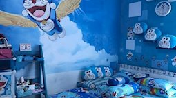 Fan cứng của chú mèo máy Nhật Bản Doraemon là đây!