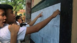 Điểm thi THPT quốc gia không phản ánh đúng năng lực học sinh