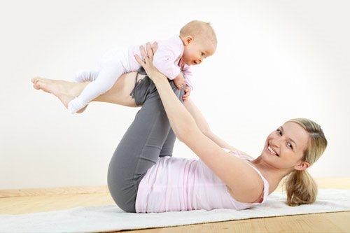 Bài tập giúp giảm mỡ bụng hiệu quả cho phụ nữ sau sinh
