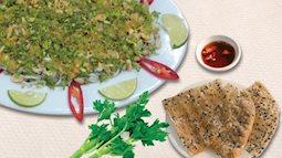 Đệ nhất tiết canh cua - đặc sản của  ẩm thực Phú Quốc.