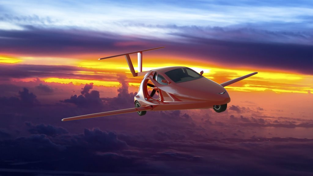 Chiếc ô tô bay đầu tiên trên thế giới sắp cất cánh
