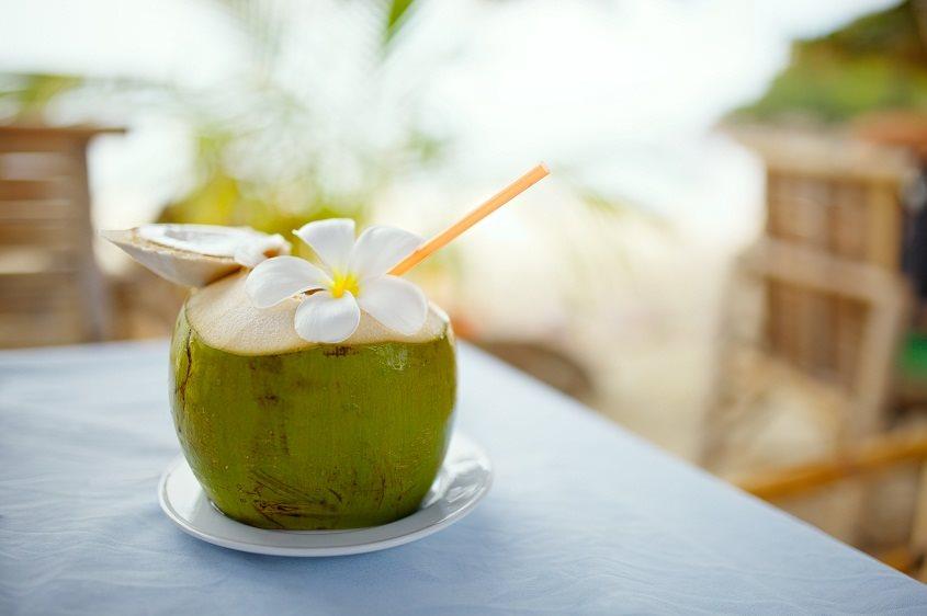 uống nước dừa thường xuyên không tốt cho sức khỏe hình ảnh