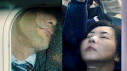 Ngắm những khuôn mặt mệt mỏi của người dân Nhật Bản trên chuyến tàu điện ngầm
