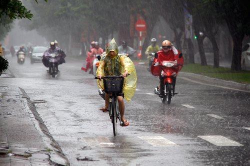 Thời tiết 28/7: Cả nước mát mẻ ngày cuối tuần, Hà Nội mưa rào rải rác và dông