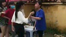 Choáng váng, hai thiếu nữ Hải Dương đánh nhau như côn đồ