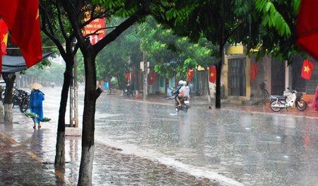 Thời tiết 30/7: Đầu tuần, Hà Nội mưa rào và dông thời tiết mát mẻ