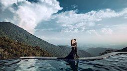 Bộ ảnh cưới xuyên Việt của cặp vợ chồng Ninh Bình