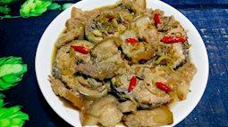 Cá kho thịt đẫm vị nước dừa thơm nức, đậm đà, chuẩn vị, rất đưa cơm