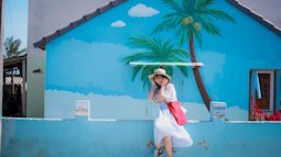 Ngôi làng bích họa ở Quảng Nam vẫn là điểm sống ảo hot của giới trẻ
