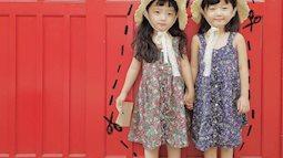 Ngắm cặp song sinh Hàn Quốc xinh như thiên thần, chắc nhà nào cũng muốn... đẻ ngay