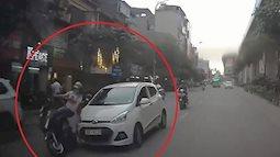 Tài xế xe điên đâm hàng loạt người dọc từ phố Hoàng Cầu tới đường Hoàng Đạo Thúy