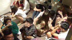 """Hàng chục """"dân chơi"""" tổ chức tiệc ma tuý trong căn hộ ở Sài Gòn"""