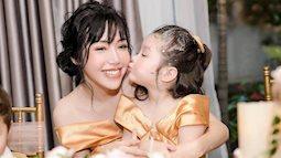 Con gái Elly Trần tròn 4 tuổi, Cadie Mộc Trà càng lớn càng xinh và đáng yêu