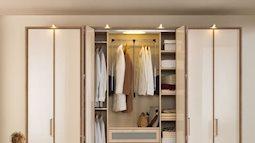Để hợp phong thủy, các gia đình hiện đại nên biết những cách này khi chọn tủ quần áo
