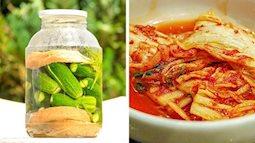 Top 9 loại thực phẩm chứa những vi sinh vật có lợi cho sức khỏe mà không phải ai cũng biết