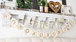 Phòng ngủ siêu lãng mạn thắp lên tình yêu cho cặp đôi hạnh phúc