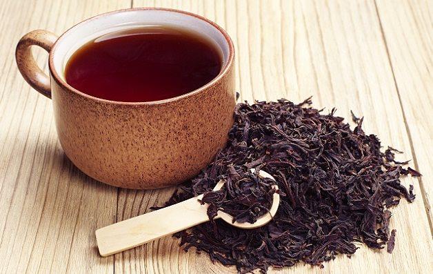 Trà đặc có thành phần bao gồm caffeine và tanin hình ảnh
