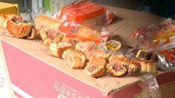 Bánh trung thu nhập lậu bán với giá 2000 đồng/chiếc ở Hà Nội