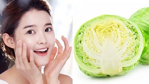 Có thể bạn chưa biết: Ngoài làm món ăn ngon, bắp cải còn có công dụng tuyệt vời giúp làn da trắng mịn