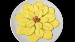 Đĩa hoa quả sẽ trở thành tác phẩm nghệ thuật chỉ nhờ vài cách sắp xếp đơn giản này