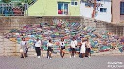 Nhóm bạn trẻ Việt khám phá ngôi làng màu sắc độc đáo ở Busan - Hàn Quốc