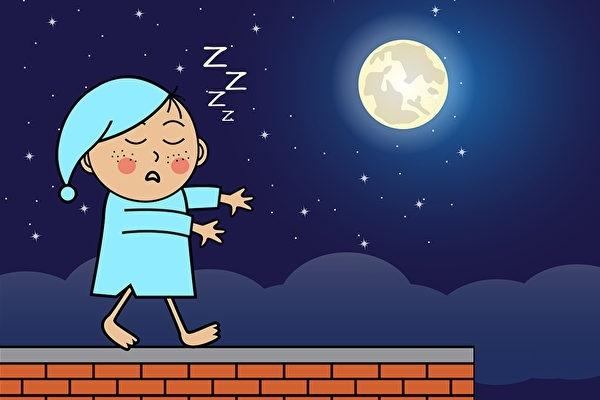Vì sao trẻ cũng mộng du và 5 chiêu cải thiện để trẻ có giấc ngủ ngon