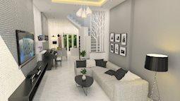 Thiết kế nhà 4 tầng hạn chế tối đa chi phí cho gia đình ở Sài Gòn