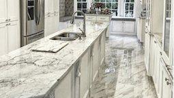 Tại sao nên dùng đá cẩm thạch cho nhà bếp?