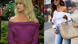 Loạt mốt thời trang đi xuyên thời trang mà vẫn hot