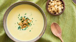 Công thức súp ngô  kiểu Nhật ngọt thanh tự nhiên