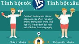 Bí quyết lựa chọn tinh bột, ăn no mà vẫn giảm được cân, lại vừa tốt cho sức khỏe