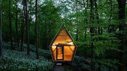 Căn nhà bình yên giữa núi rừng, chắc những ai ở chốn thị thành đều muốn đến để thư giãn